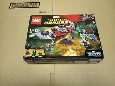 LEGO Marvel Super Heroes 76079 Ravager Attack With 3 Mini Figures Brand New