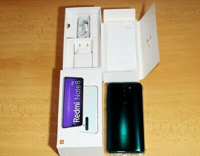 "Xiaomi Redmi Note 8 Pro Forest Green  128GB 6GB 6,53"" Smartphone  Global Version"