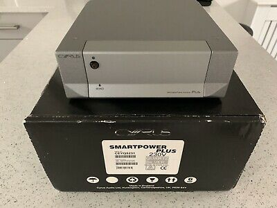 Cyrus SmartPower Plus Stereo or Mono Power Amp - Boxed