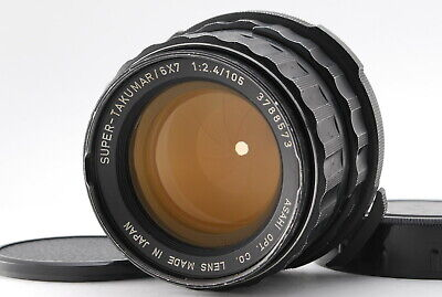 Excellent Pentax 6x7 SMC Takumar 105mm f/2.4 Lens For 6x7 67 67II From Japan