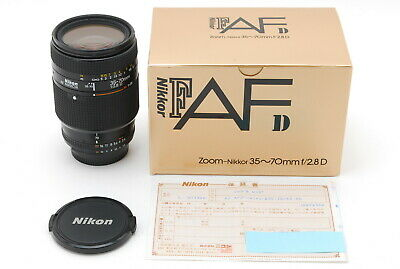 Almost Mint IN BOX Nikon AF NIKKOR 35-70mm F/2.8 D zoom lens from JAPAN