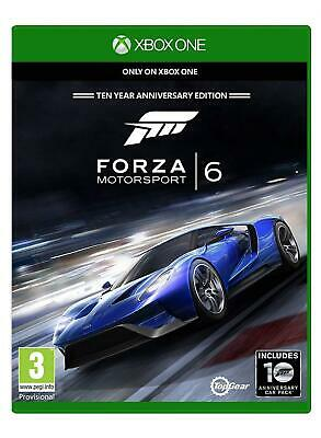 Forza Motorsport 6 Ten Year Anniversary Edition For Xbox One - New And Sealed