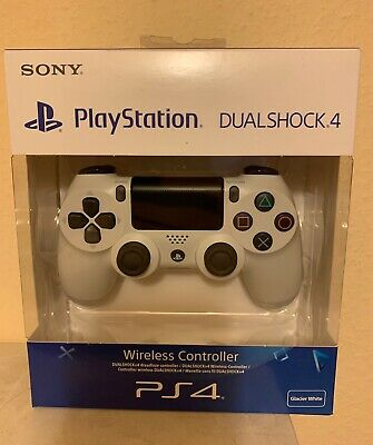 Sony Playstation 4 PS4 Dualshock Wireless Controller - Farbe Glacier White