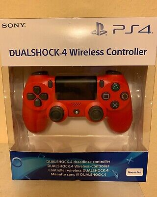 Sony Playstation 4 PS4 Dualshock Wireless Controller - Farbe Magma Red