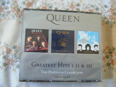 Queen - The Platinum Collection - Greatest Hits 1,2 and 3 [FATCASE/BOOKLET]