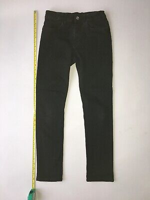 Boys Skinny Jeans by H&M Black, Size 12-13 yo, Stretchy VGC