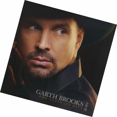 The Ultimate Hits by Garth Brooks(CD Sep-2016,2 Discs,Pearl).BN Great gift!
