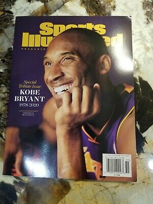 Kobe Bryant Sports Illustrated Magazine Special 2020 Tribute Issue #lakers4life