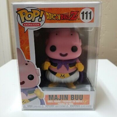 FUNKO POP! Majin Buu #111 Dragon Ball Z w/ Protector