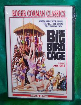 1972 THE BIG BIRD CAGE VINTAGE ACTION MOVIE POSTER PRINT 24x16 9MIL PAPER