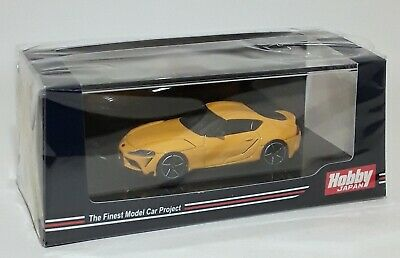 Hobby Japan 1/64  2019 Toyota Gr Supra (A90) Rz Lightning Yellow
