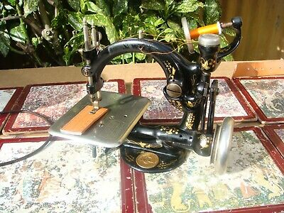 Old Vintage Antique  Sewing Machine Wilcox Willcox & Gibbs For Restoration