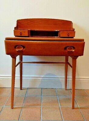 Retro Vintage Ercol Desk / Dressing Table Model 479/439