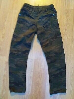 Boys Next Combat Trousers Pants Age 8 -9 Years