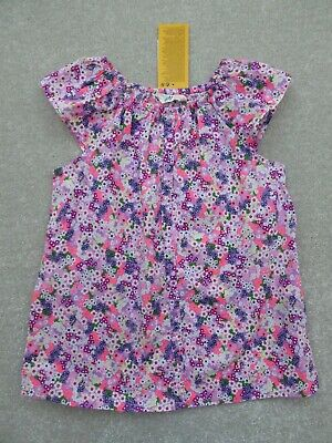 H&M Girl's Pretty Floral Top / Blouse Size 7-8 Years BNWT