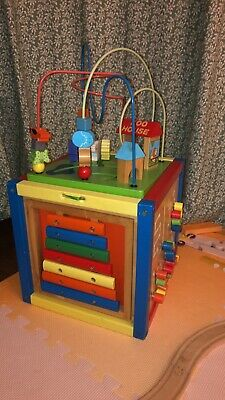 baby Toddler Wooden Toy Music And Box