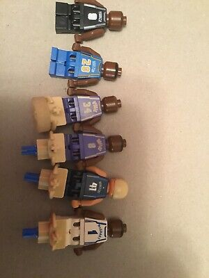 LEGO NBA Minifigures Lot Kobe Bryant , O'Neal,Nowitzki,McGrady , Houston, Parker