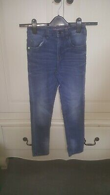 BLUEZOO 2x BOYS SKINNY JEANS  AGE 10YRS Excellent Condition Two Pairs