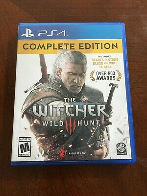 The Witcher 3: Wild Hunt Complete Edition PS4 Playstation 4