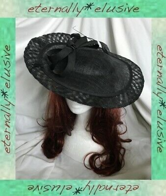 HAWKINS Special Occasion Tilted Disc Head Band Hatinator Hat Ascot Races Wedding