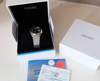 Seiko 5 Automatic Dark Grey Dial Stainless Steel Mens Watch SNXS73 7S26-0480