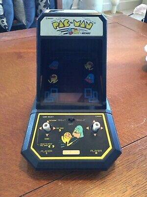 Vintage 1981 Coleco Midway Pac-Man Mini Arcade Game Working Retro Cool