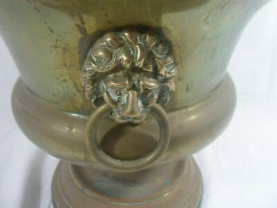 Fantastic Large Vintage Brass Planter,