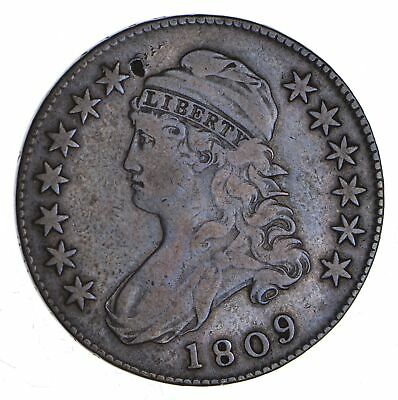 1809 Capped Bust Half Dollar - O-113 - Circulated *1185