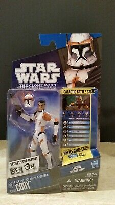 Star Wars The Clone Wars Cw03 Clone Commander Cody Listing Entire Collection Tcw