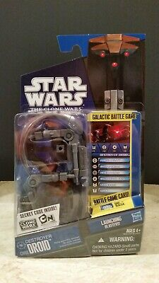 Star Wars The Clone Wars Cw04 Destroyer Droid Listing Entire Collection Tcw
