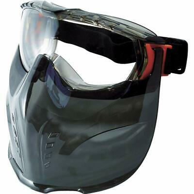 TRUSCO Safety Goggles with visor Hermetic type TSG-501MV Protect entire Face JPN