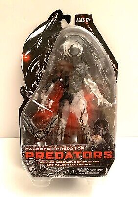 "NECA Falconer Cloaked Masked Predator 7"" Action Figure Predators Series MIP New!"