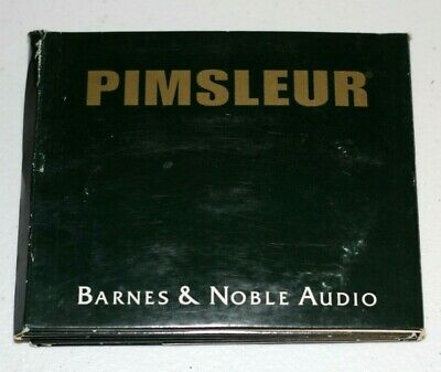 PIMSLEUR SPANISH CD Set - 5 CDs 8 Lessons - Barnes & Noble Audio Book Learn