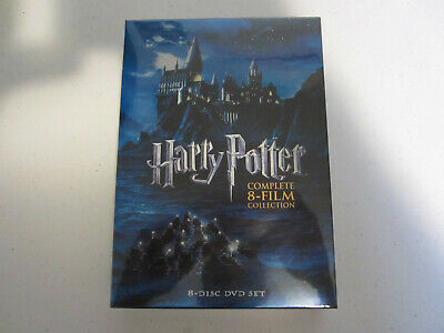 NEW Harry Potter Complete 8-Film Collection DVD, 2011, 8-Disc Set