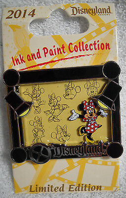 Ink and Paint Collection Quarterly Animation Cel Minnie Mouse Disney Pin NEW