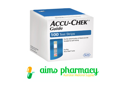 Accu Chek Guide Test Strips - 100 Strips