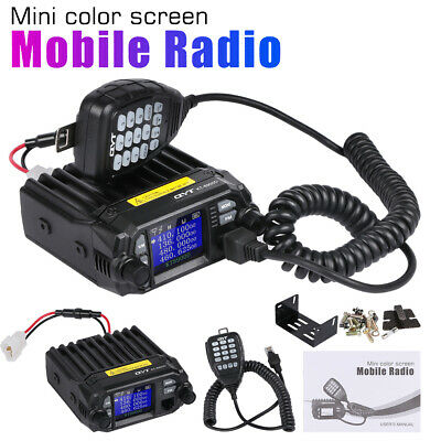 QYT KT-8900D Quad display mini dual band mobile radio cable 5Tone VHF BS