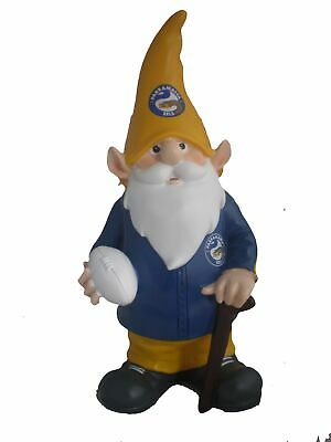 Parramatta Eels NRL Trackie Wearing Garden Gnome With Walking Cane
