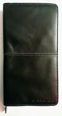 Brand New, Napa Leather, Long Wallet, Made By: Carrier, With Zip, Black . . .
