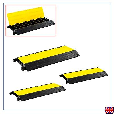 25 tonnes Cable Protector Ramp Rubber Conduit Cover Yellow&Black Highly visible