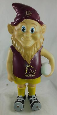 Brisbane Broncos NRL Garden Gnome In Team Jersey and Boots * 2013 Model