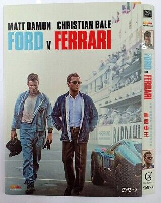 Ford v Ferrari (DVD,2019) SHIPS NOW