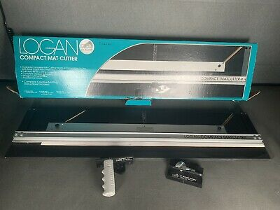 Logan 301-S Compact Bevel And Straight Mat / Mount Cutter  Boxed
