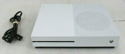 Microsoft Xbox One S 1681 Video Game Console White Parts/Repair