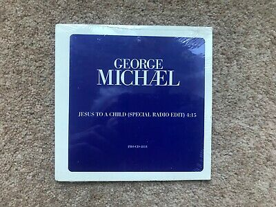 George Michael ‎– Jesus To A Child - USA Promo CD single - M/S