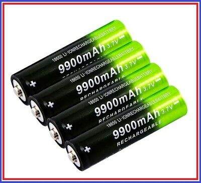 Batterie Pile Accu Rechargeable 18650 -_-_-_ 9900mAh battery Lion 3.7V FR