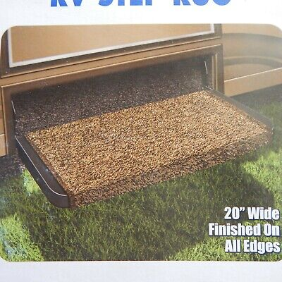 "New Prest-o-Fit Wraparound Plus 20"" RV Step Cover - Brown"