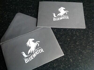 Bluewater gift card. £50  Brand new.  Unsigned.  Valid until 20/09/2020