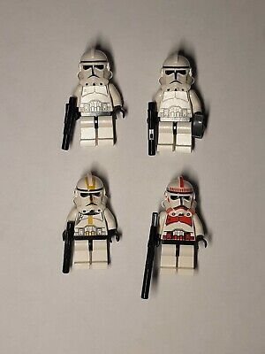 Lego Star Wars Clone Troopers Battle Pack 7655 Minifigures & Instruction Manual