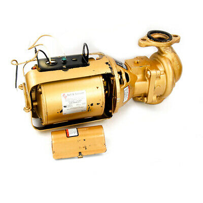 Bell & Gossett 100 BNFI 1/12 HP Bronze Potable Water Circulating Pump